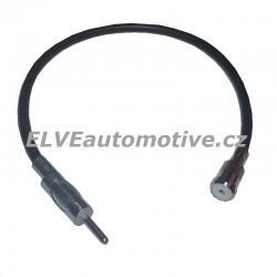 Redukce pro anténu ISO-DIN s kabelem