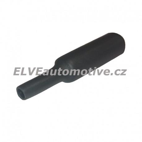 Smršťovací bužírka, průměr 19,1mm, černá, 0,5m