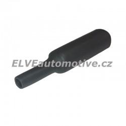 Smršťovací bužírka, průměr 6,4mm, černá, 0,5m