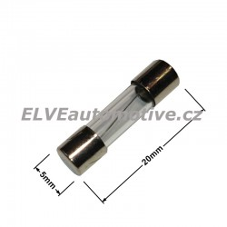 Skleněná pojistka 6A 5x20mm F