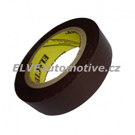 Elektroizolační páska hnědá