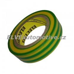 Elektroizolační páska žlutozelená
