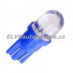 Žárovka 1LED 12V T10 modrá, Compass, balení 2ks