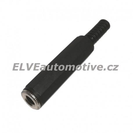 Jack 6,3 mm stereo zásuvka na kabel