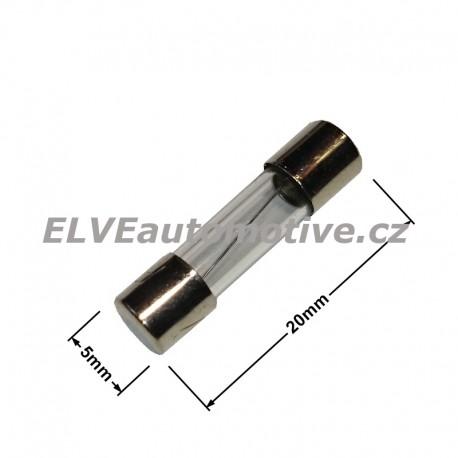Skleněná pojistka 3,15A 5x20mm F